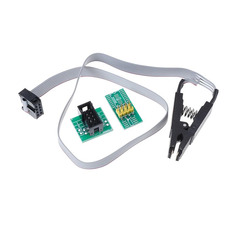 Clip de prueba SOP8 para EEPROM 93CXX/25CXX/24CXX conjunto de programación de circuitos