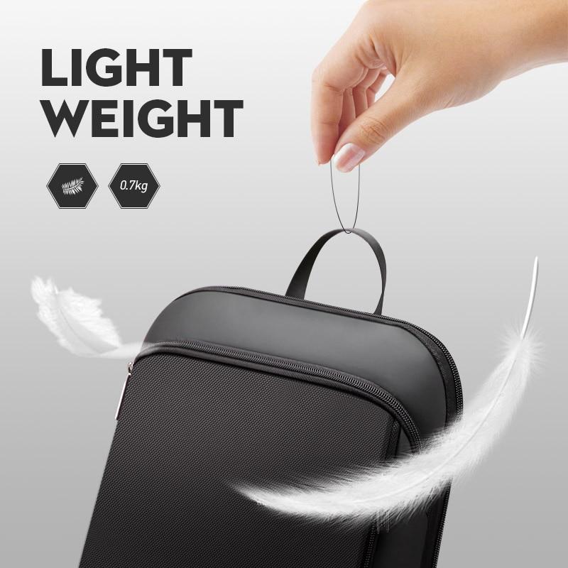 Vékony laptop hátizsák 15,6 hüvelykes irodai munka hátizsák - Hátizsákok - Fénykép 2