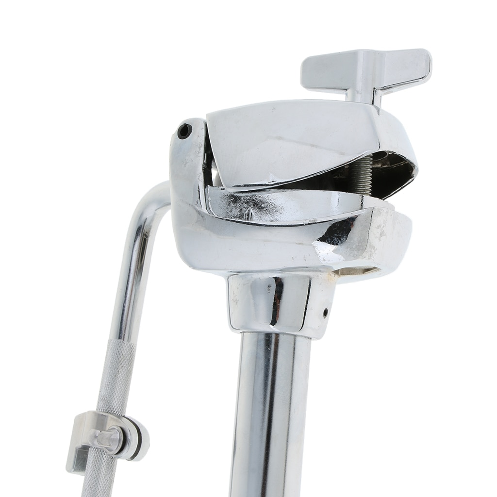 Metal Sliver Tom Drum Single Arm Stand Holder Support Rack Bracket Percussion Accessory  for Drum Set Kit Stand enlarge