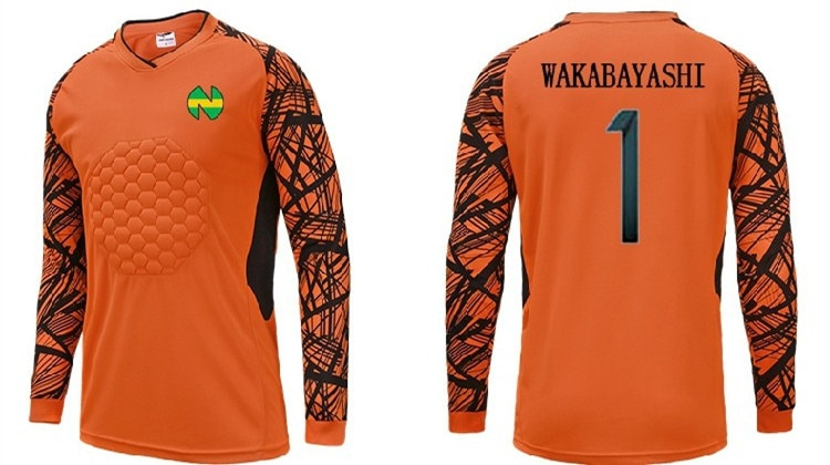Capitaine Tsubasa Football japonais Nankatsu équipe gardien Wakabayashi Genzo Cosplay t-shirt Football maillot costume
