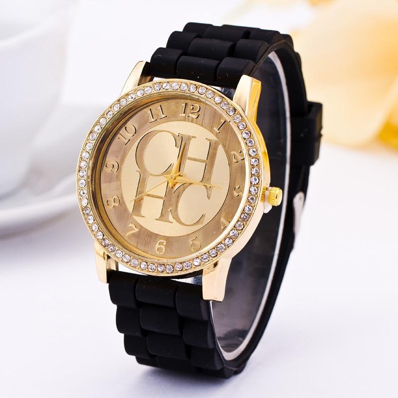 Nuevo y popular reloj de cuarzo de marca dorada 2020, reloj informal deportivo con correa de silicona, reloj femenino para hombre, reloj de gran oferta