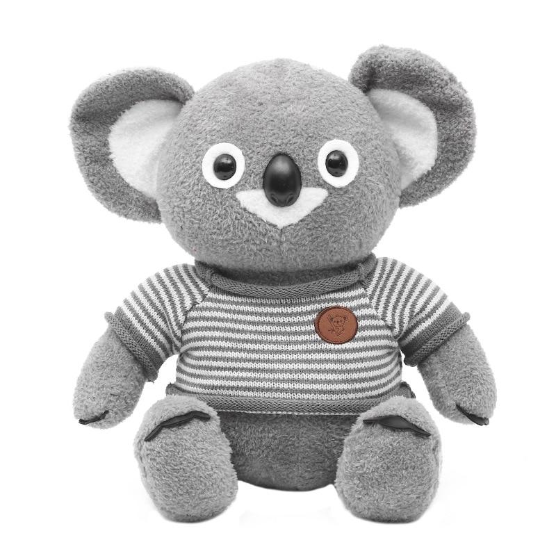 Koala de juguete de peluche de 25/35 cm, Animal de Australia, Koala, muñeca, bonito Animal de peluche, suéter suave para pareja, Koala de juguete, regalo de Navidad, juguetes para chico