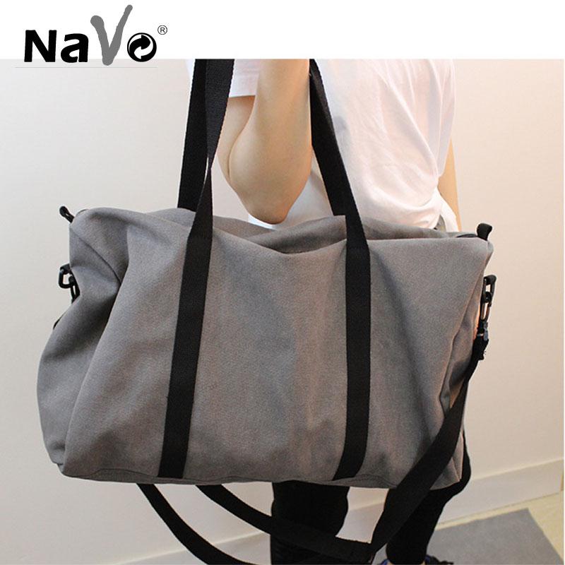 ¡Moda 2019! bolso de viaje portátil para hombre, gran capacidad, bolso de lona de fin de semana, bolsa de equipaje de corta distancia, bolsos de ejercicio deportivos para hombre