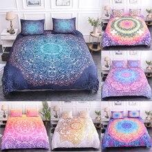 ZEIMON-housse de couette imprimée de Mandala   Ensembles de literie avec édredon, couvre-lit de luxe en microfibre, Textiles de maison