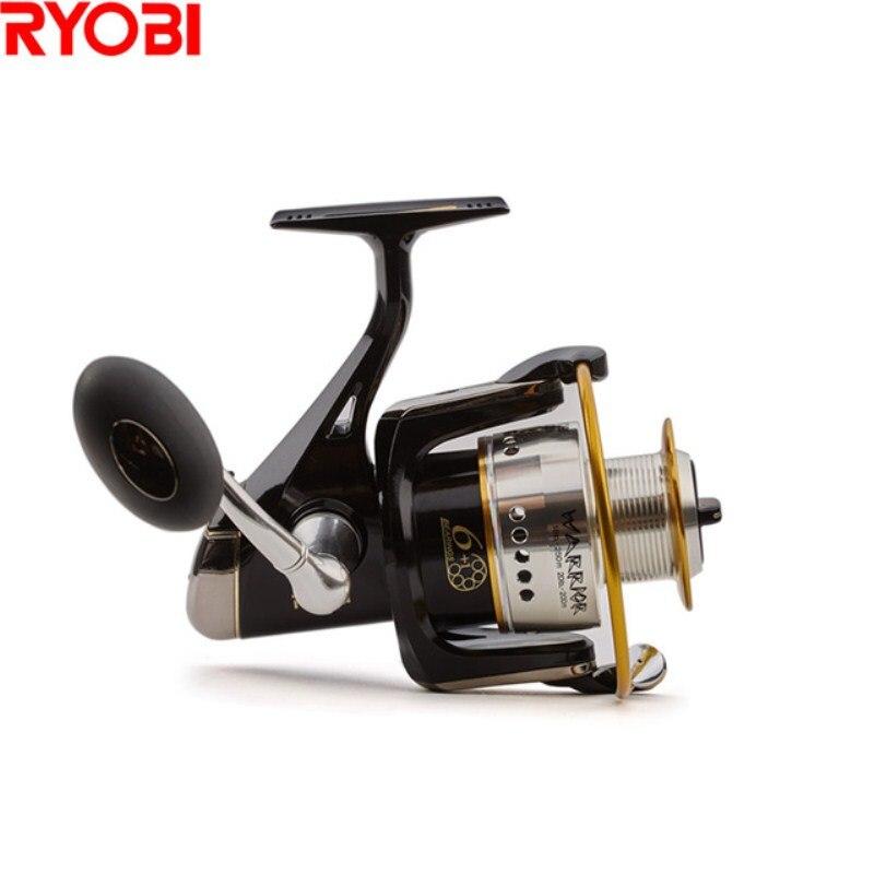 RYOBI Warrior (ECUSIMA) Spinning Fishing Reel 5.0:1/5.1:1 1000-8000 Size Carretes Pesca Moulinet Peche Carretilha Spinning Reel