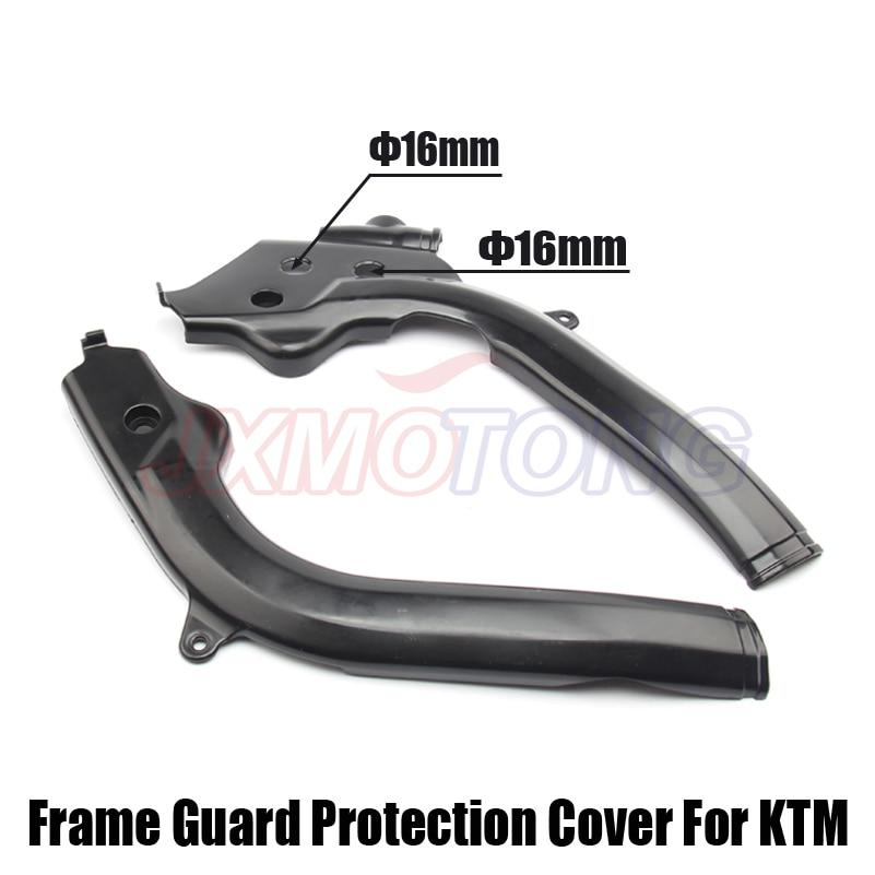 Motorcycle Black Frame Guards Protector For KTM SX125 SX150 SX-F250 SXF250 SXF350 SX-F450 SXF450 XC-F250 XCF350 XC-F450 2016