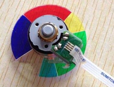 جديد الأصلي E521 الإسقاط عجلة الألوان ل optoma العارض عجلة الألوان