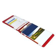 1 ensemble utile support de tableau de bord de Golf en polyuréthane gardien de Score de Golf couverture de livre de poche avec 2 cartes de Score de Golf et 1 crayon et 1 couverture