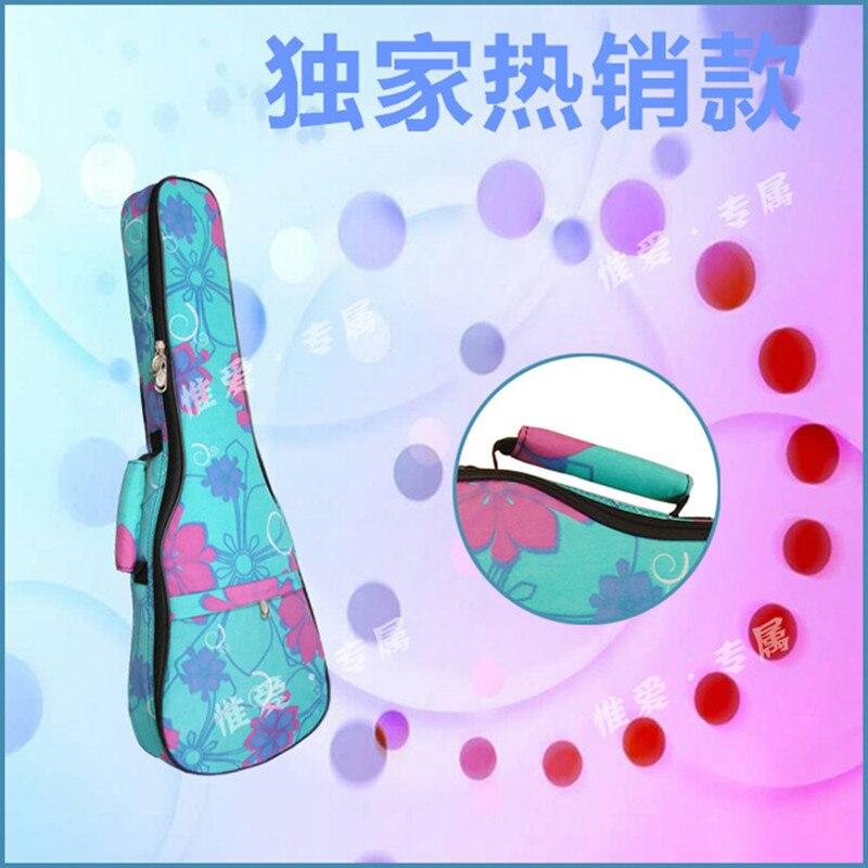 Regalo 21 23 24 26 pulgadas funda de guitarra mochila para ukelele cajita hawaii tenor acústico concierto soprano lanikai-luna-mahaure-kala Ukue