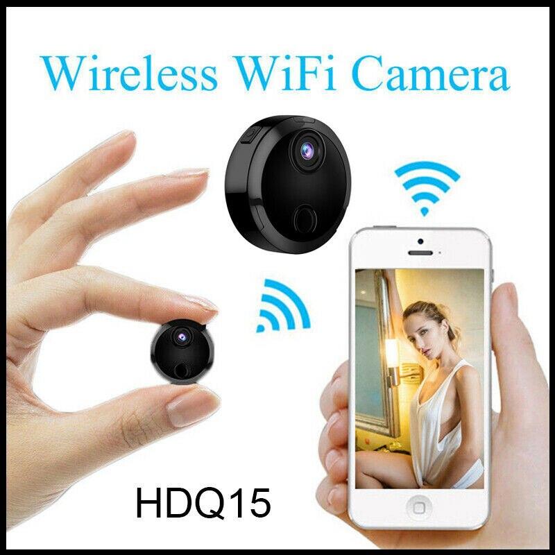 Hd mini wifi câmera de ação visão noturna sem fio filmadora secreta segurança em casa camara pequeno corpo kamera espia ip micro cam