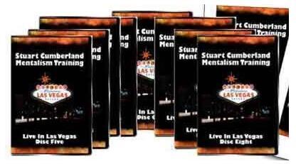 Stuart Cumberland - Home Study Mentalism Training Course 8sets-magic tricks
