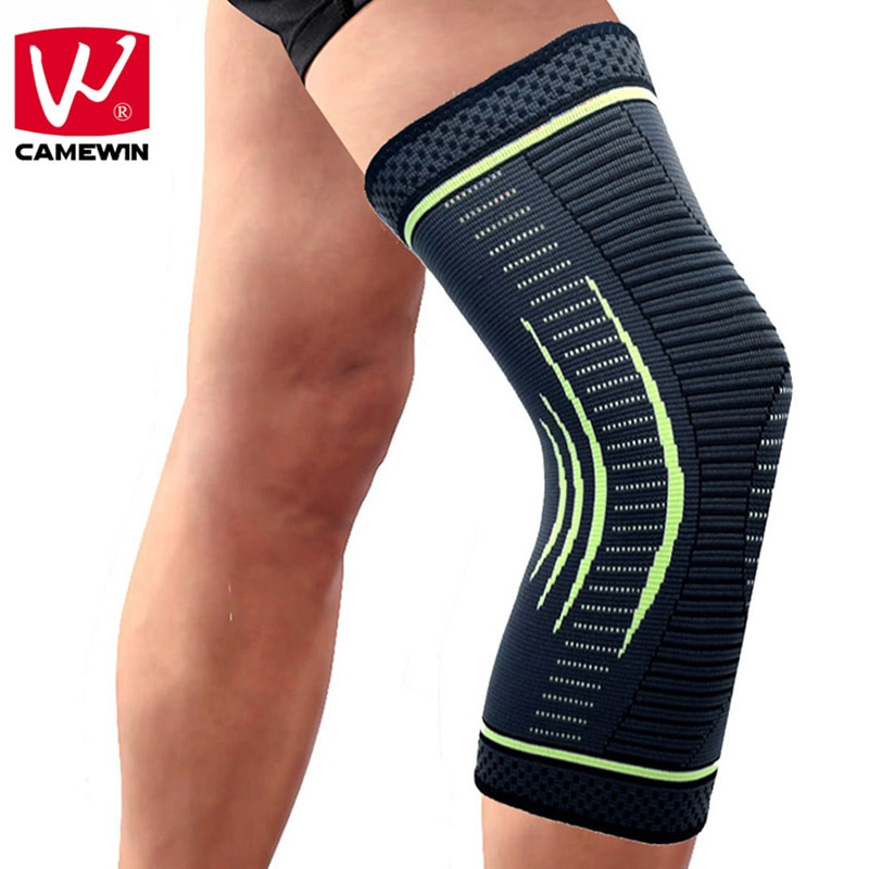 Camewin 1 par de joelheiras protetoras, joelheira, apoio para alívio da dor no joelho, menisco lágrima, artrite lesão, dor nas juntas, corrida