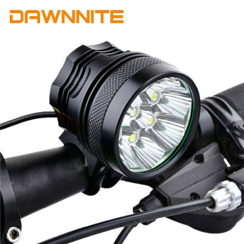 New CREE XM-L 9x T6 Bicycle Light 10800 Lumen LED Bike Light Lamp Cycling Headlamp Head Light Black / Red / Blue