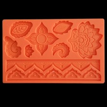 2019 neue Mandala Blume Silikon Form Designer DIY Stampi in Silikon Molde Silikon Concreto Formen für Gips