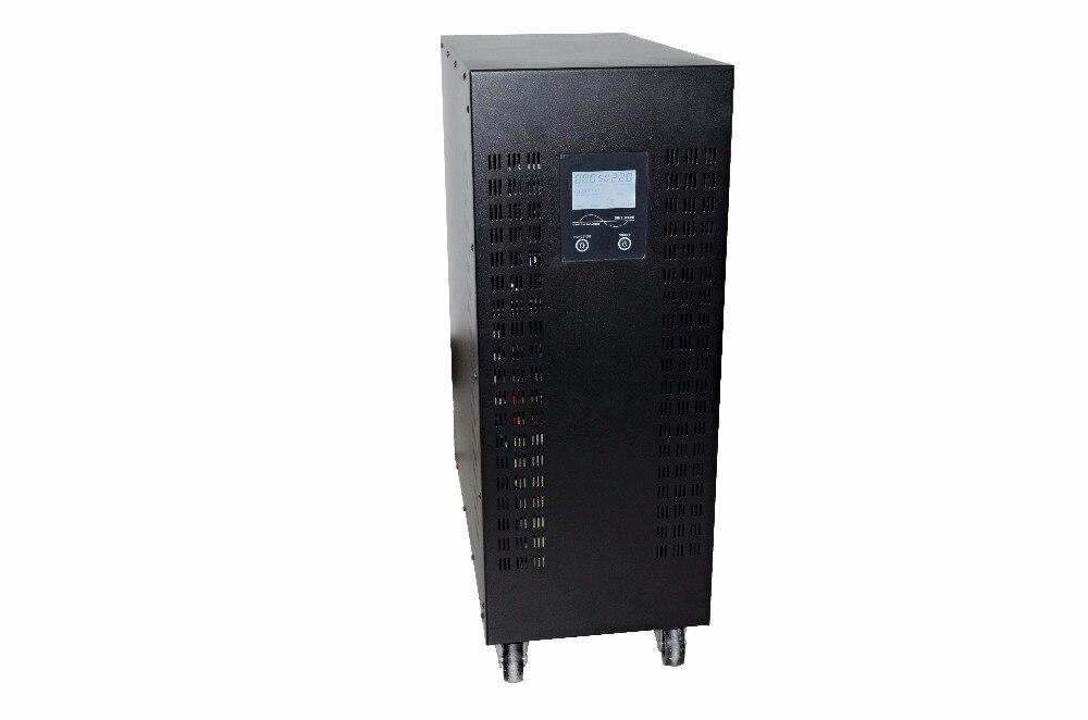 Onda sinusoidal pura de 20kW/20000W, convertidor de corriente continua a ca de 192/220/220VAC 240VDC A, con entrada eléctrica de ciudad/cargador de CA