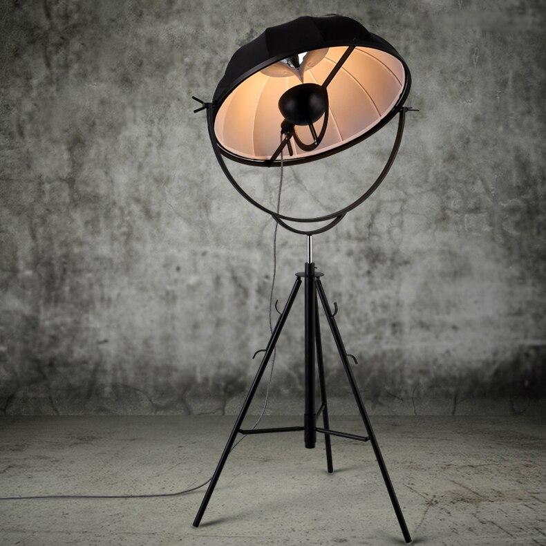 Adornos modernos Fortuny lámpara de Pie ajustable forma de satélite Luz de estudio fotográfico sala de estar luz fotografía lámpara de pie