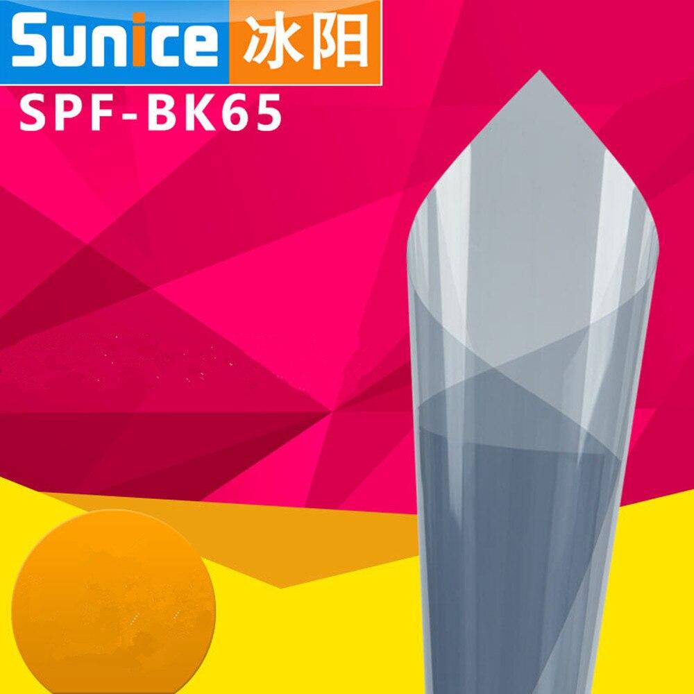 Mejor oferta VLT 65% 1,52 m x 2 m va Solar tinte de la ventana del coche tinte película de vidrio Auto comercial película de tinte de ventana lateral Solar