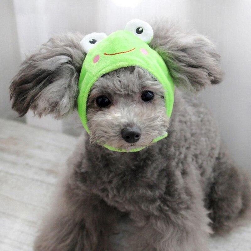 Милая собачья шапка в форме животных, шапка для собак, дешевые аксессуары для домашних животных, шапки для собак, забавные Домашние животные...