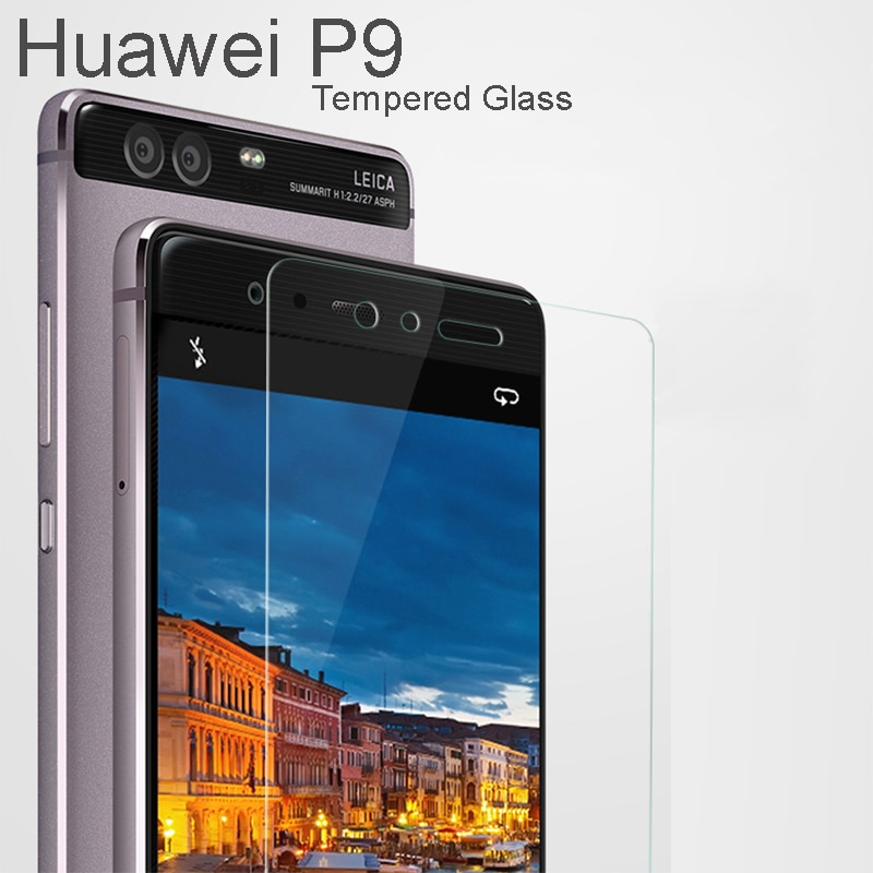 Huawey P9 Tempered Glass For Huawei P9 Mobile Phone Huawai P9 Screen Protector Film Safety Glass Pro