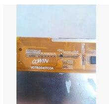 7.85 polegada COWIN V0782640TC0A V0782640TCOA HYV079W21264008 display de cristal líquido
