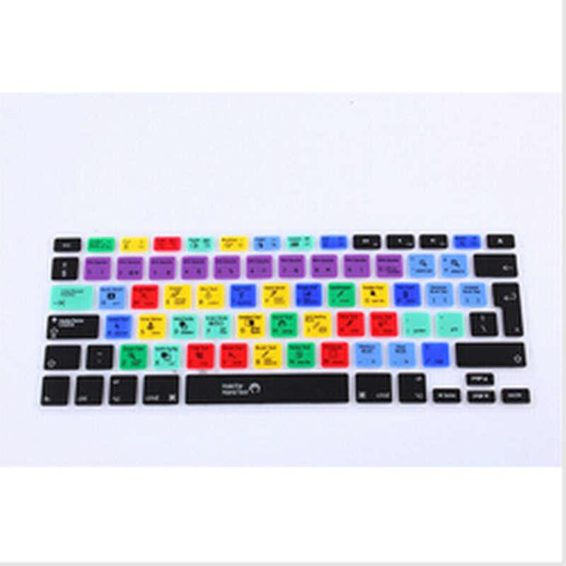 Adobe Photoshop las teclas de película para cubrir teclado para iPhone Macbook Pro aire retina 13 15 17 KC_A1278_EU_Photoshop