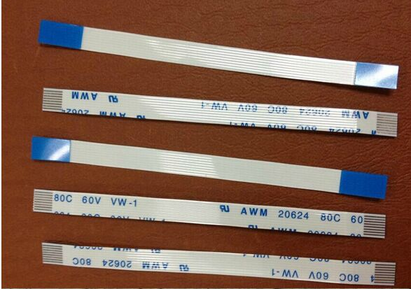 Free shipping 100pcs Flat Ribbon Flex Cable 0.5mm pitch 80mm, 8 pin E118077 AWM 2896 80C VW-1 Power Button