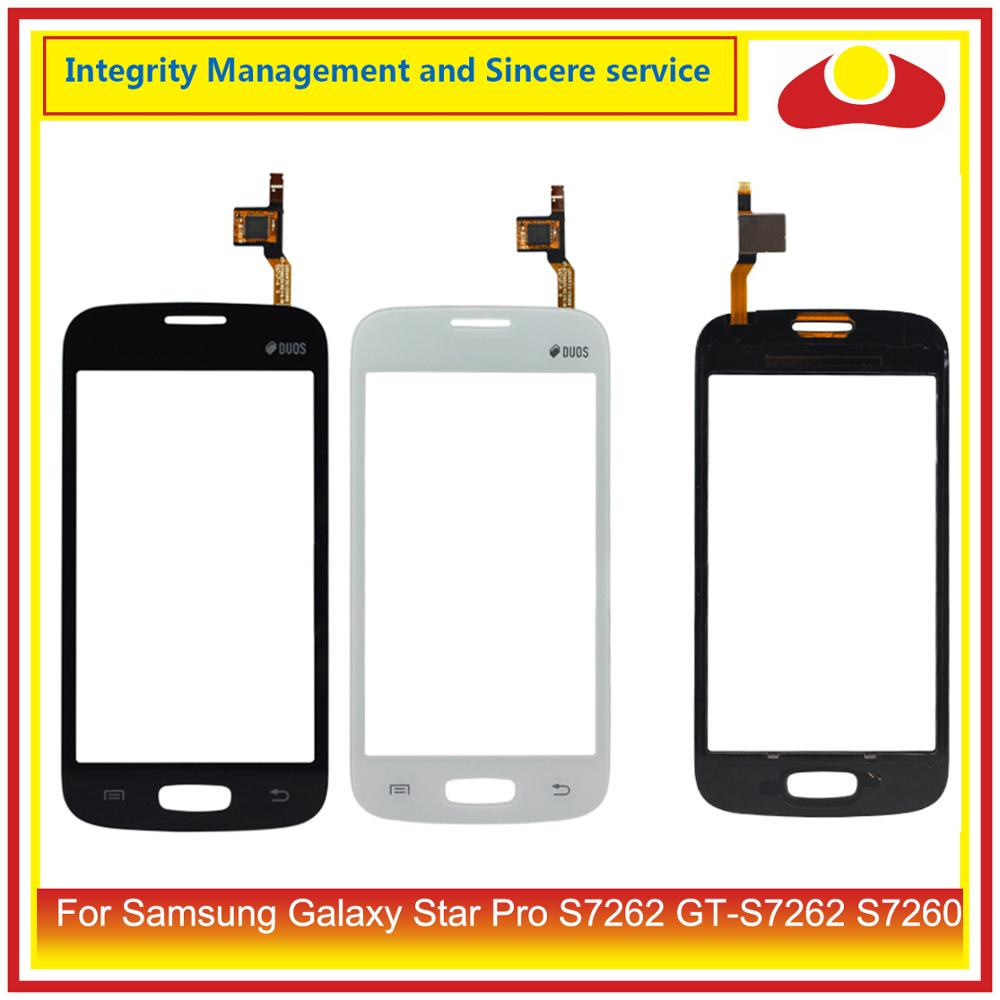 "4,0 ""para Samsung Galaxy Star pro S7262 GT-S7262 S7260 GT-S7260 Panel de pantalla táctil digitalizador de reemplazo de lentes de vidrio"