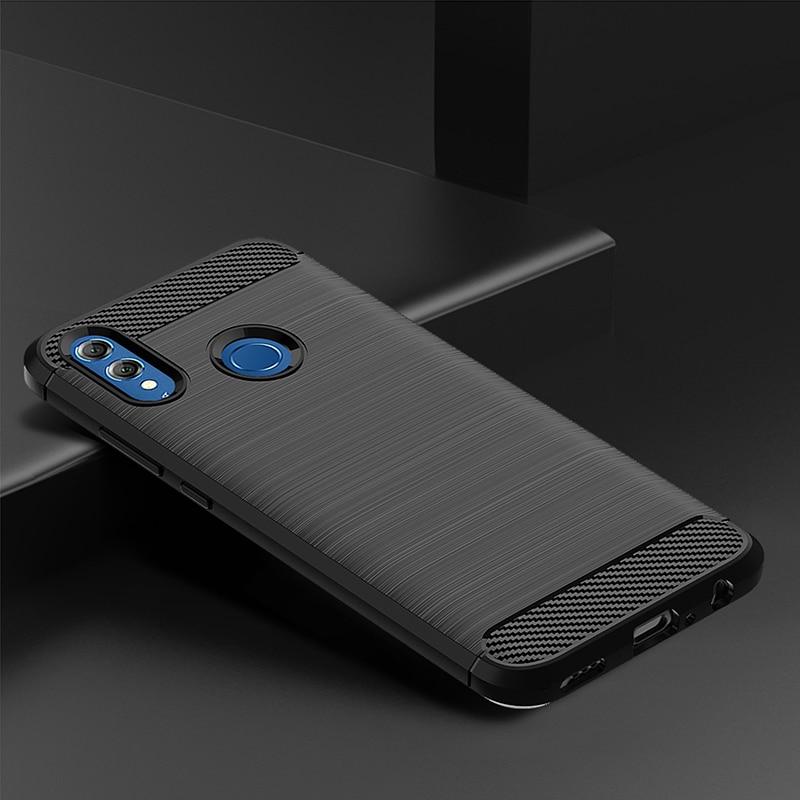 Противоударный чехол для Huawei Honor 20 10 9 8 Lite 10i 20i 8X 9X 9A мягкий бампер из углеродного волокна чехол для Huawei Mate30 Lite P30 P20