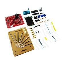 Multifuncional testador gm328 transistor tester capacitância de diodo esr medidor pwm onda quadrada gerador sinal/caso