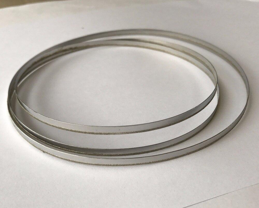 """POGUT 62 """"x1/8"""" hoja de sierra de cinta de repuesto de 1/4 """"recubierta de diamante para sierras de banda de 4000 y 5000"""
