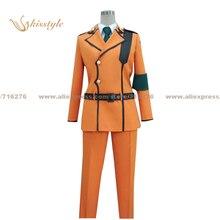 Kisstyle Fashion Code Geass: Lelouch of the Rebellion Suzaku Kururugi Uniform COS Clothing Cosplay Costume,Customized Accepted