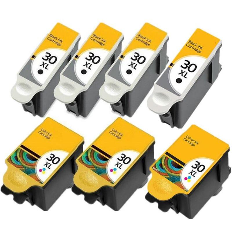 Compatível para kodak 30 cartucho de tinta 30 xl para 30xl impressoras esp c315 c310 c110 c115 herói