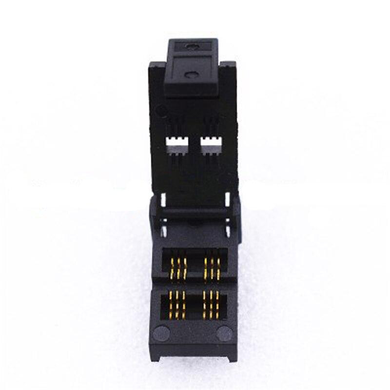 SOT23-6L-1.7 обжиг в гнездо шаг штыря 0,95 мм IC Размер корпуса 1,7 мм раскладушка тест Программирование адаптер оригинальная розетка