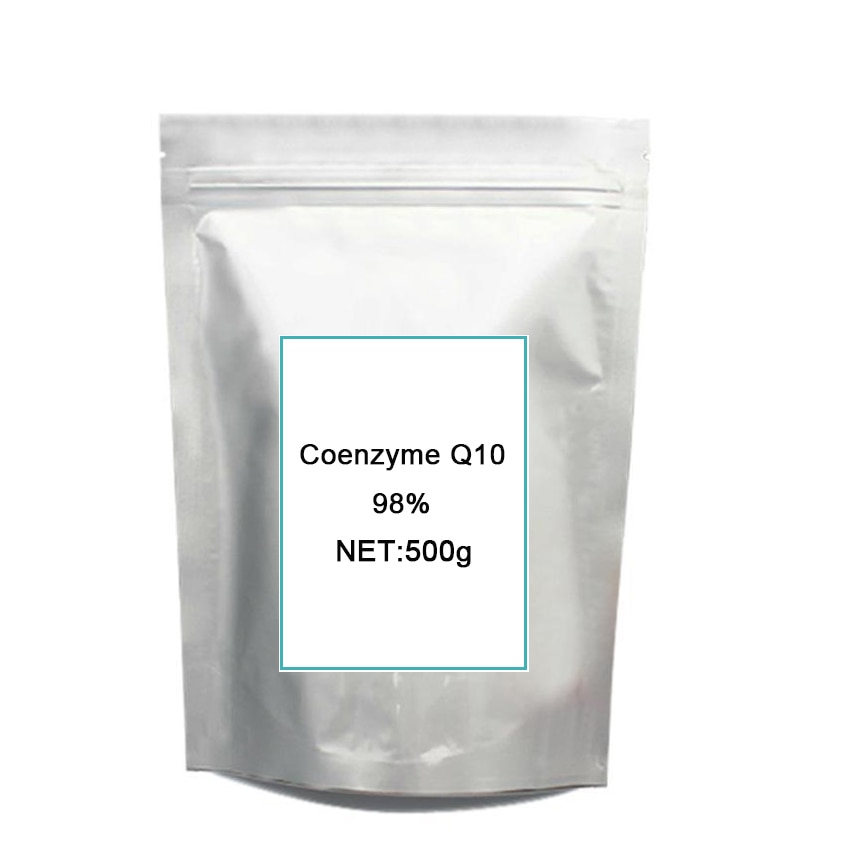 Co Q10 po-wder 98% (coenzima Q10) 500g paquete