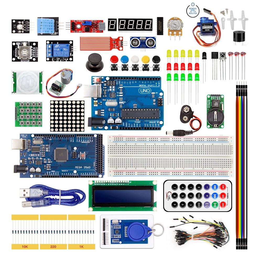 Супер стартовый набор для Arduino UNO R3 и Mega