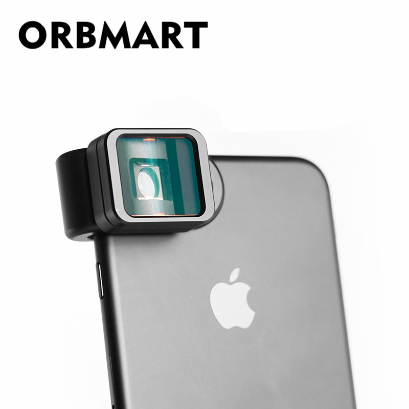 ORBMART 1.33x Verformung Telefon Objektiv Universal Clip Widescreen Film Objektiv Für iPhone Huawei Samsung Xiaomi Smart Telefon