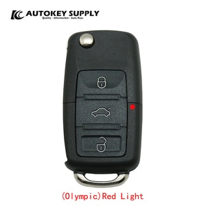 Car-styling Chave Canivete For VW Polo Olympic Red Light for car key  AKBPCP059