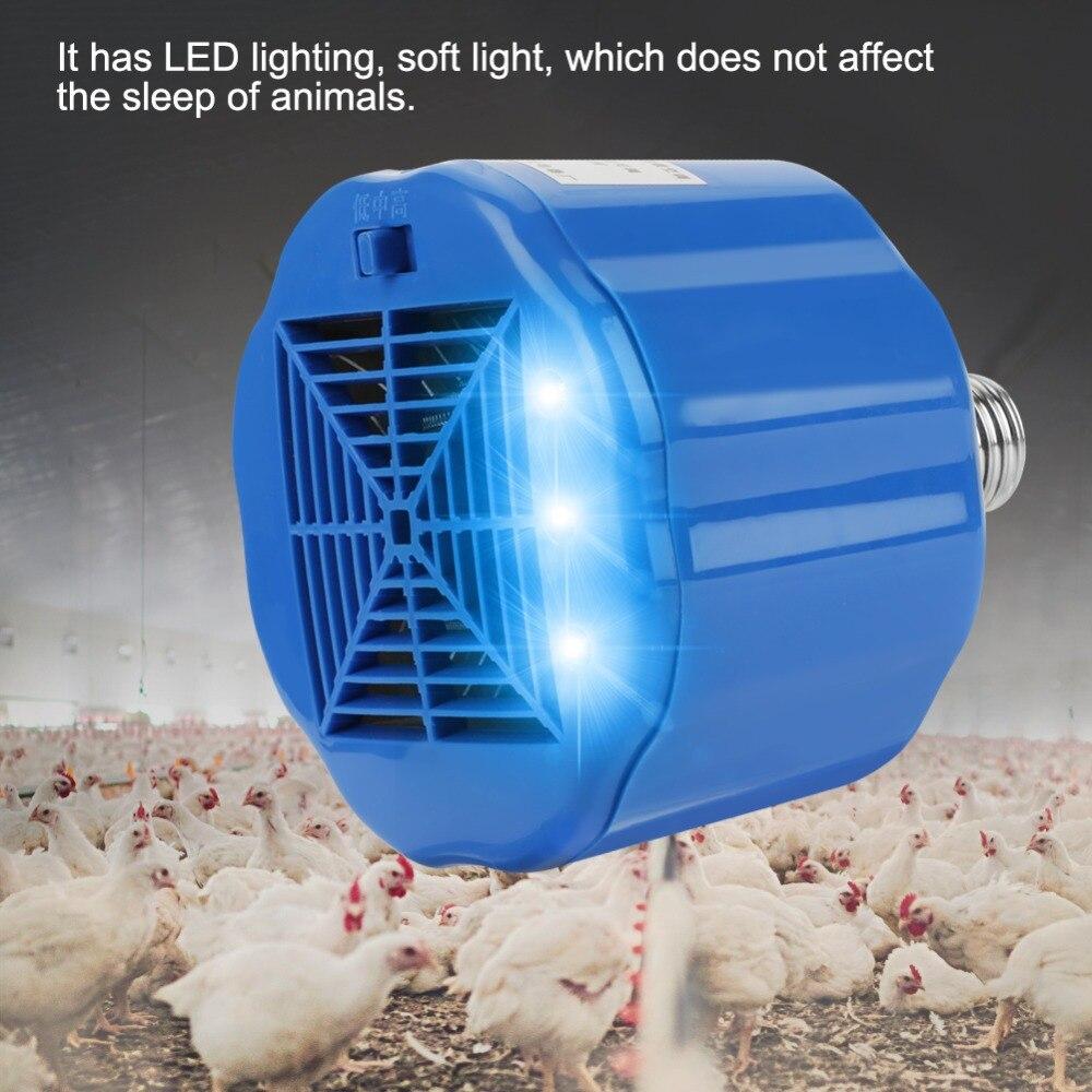 › Lâmpada de aquecimento para aves domésticas, lâmpada de calor para animais de estimação, galinhas, lâmpada de calor, ferramenta de alta qualidade
