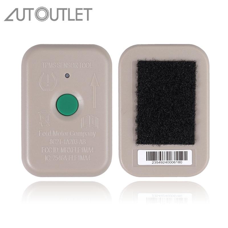 Autooutlet para Monitor de presión de neumáticos, herramienta de activación con Sensor para Ford 8C2Z-1A203-AB 8C2T1A203AB TPMS, Sensor de presión de neumáticos
