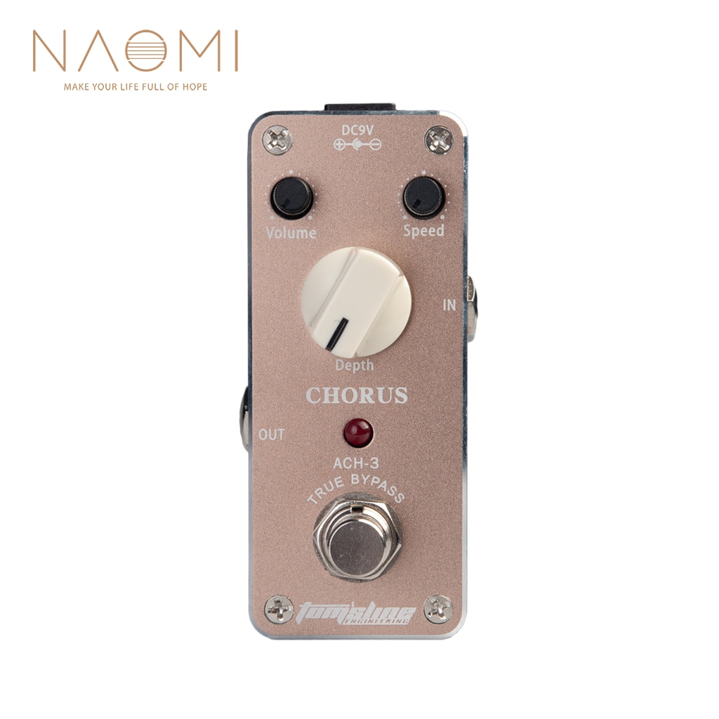 NAOMI Tomsline ACH-3 Chorus Guitar Pedal Guitar Effect Pedal Guitar Parts Accessories New