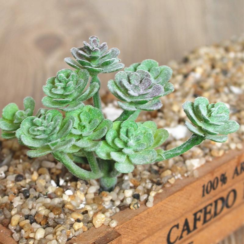 Artificial planta suculenta cactus echeveria flor decoração de escritório em casa presente hotsale