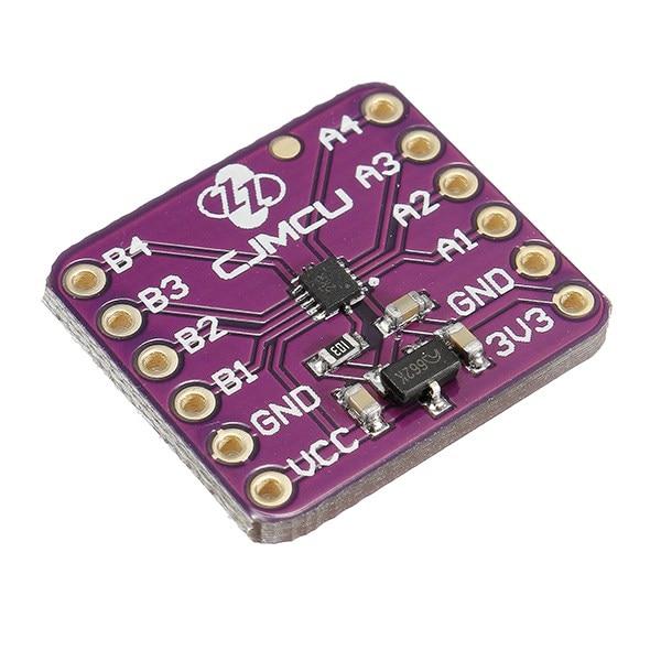 Двухнаправленный переводчик уровня напряжения TXB0104, 4 бита, 1 шт., с автоматическим датчиком направления, защитная плата ESD, модуль, Лидер продаж