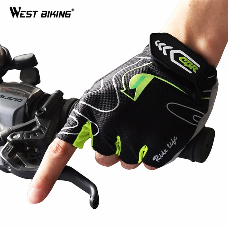 AliExpress - WEST BIKING 3D Gel Bicycle Gloves Anti-slip Summer Breathable Half Finger Gloves Unisex Mountain Bike Bicycle Cycling Gloves