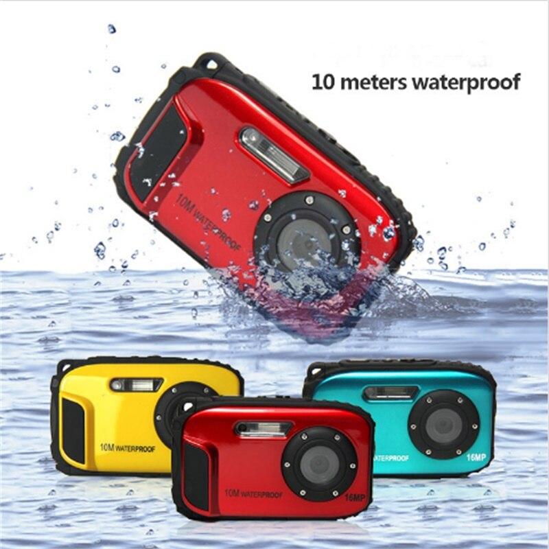 Minicámara Digital HD impermeable, cámara De Fotos De 16MP y 2,7 pulgadas,...