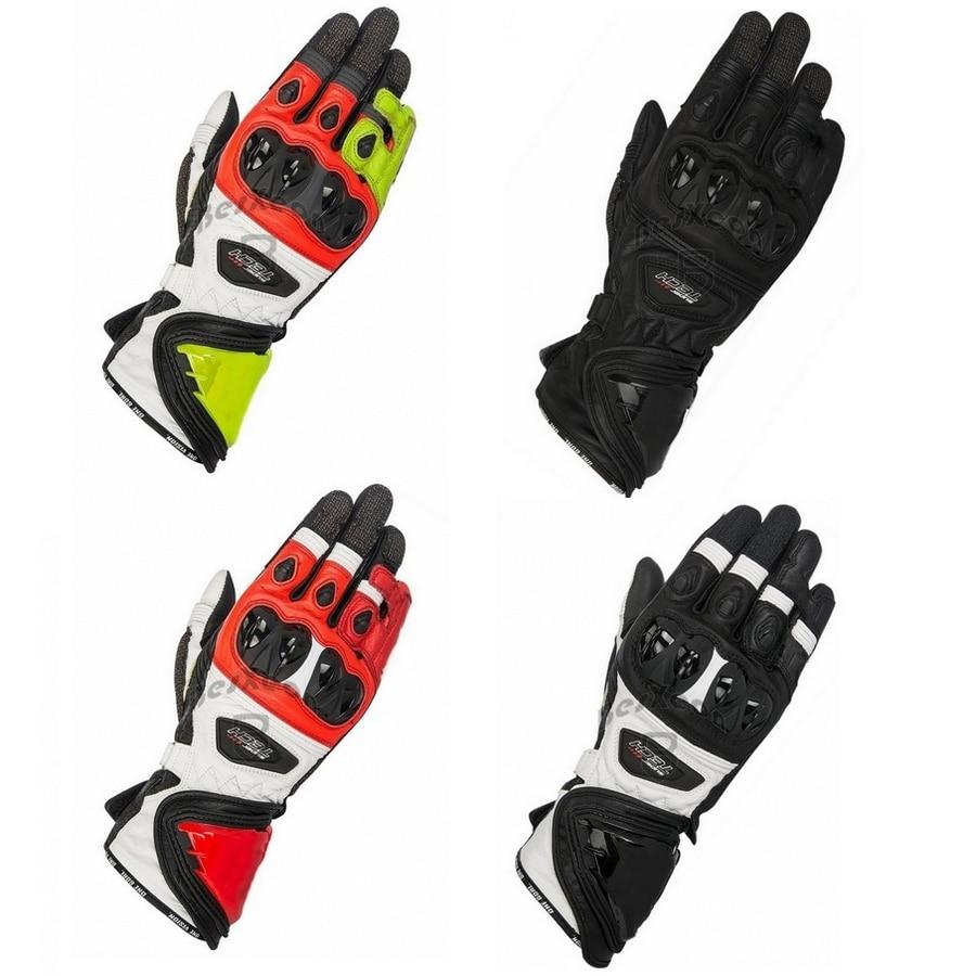 Новинка, 4 цвета, 100% натуральная кожа, супер технология, мотоциклетные длинные перчатки, гоночные перчатки для вождения, GP PRO, мотоциклетные Оригинальные перчатки из воловьей кожи