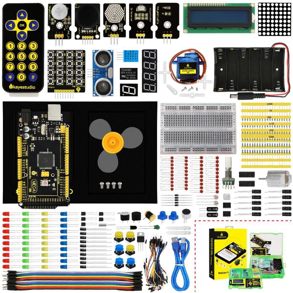 Стартовый набор Keyestudio Maker (MEGA 2560 R3) для �