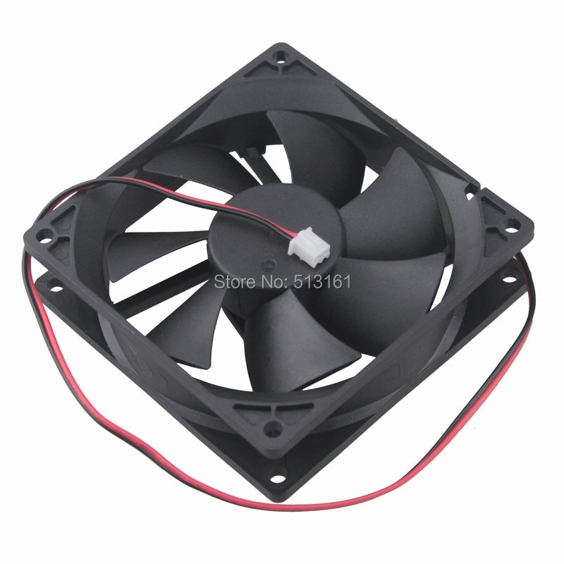 20PCS Gdstime 92mm x 25mm 12V 2Pin Ball Bearing Cooling Fan for PC Case CPU Cooler