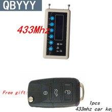 QBYYY 433Mhz Remote Control Signal Detector wireless remote key decoder scanner + SK330 pair cloning Car Key Remote Control