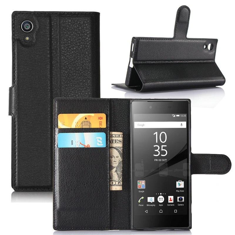 Para Sony Xperia 10 Plus XZ3 XA1 XA2 Ultra Flip Funda de cuero para Sony Xperia 5 1 L3 XA1 Plus XA2 Plus funda billetera