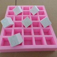 30 Cavities Custom Soap Mold Ice Cube Silicone Tray Custom Silicone Mold With Company Brand Logo